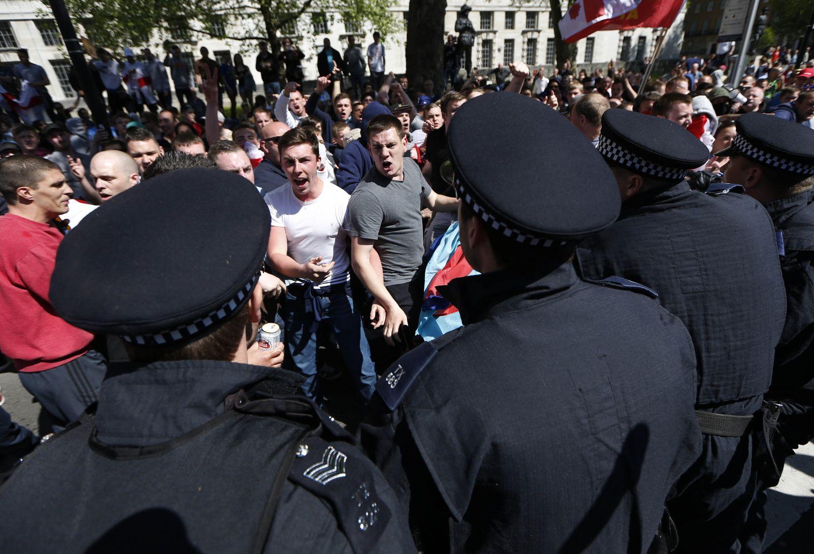 Britain EDL Protest