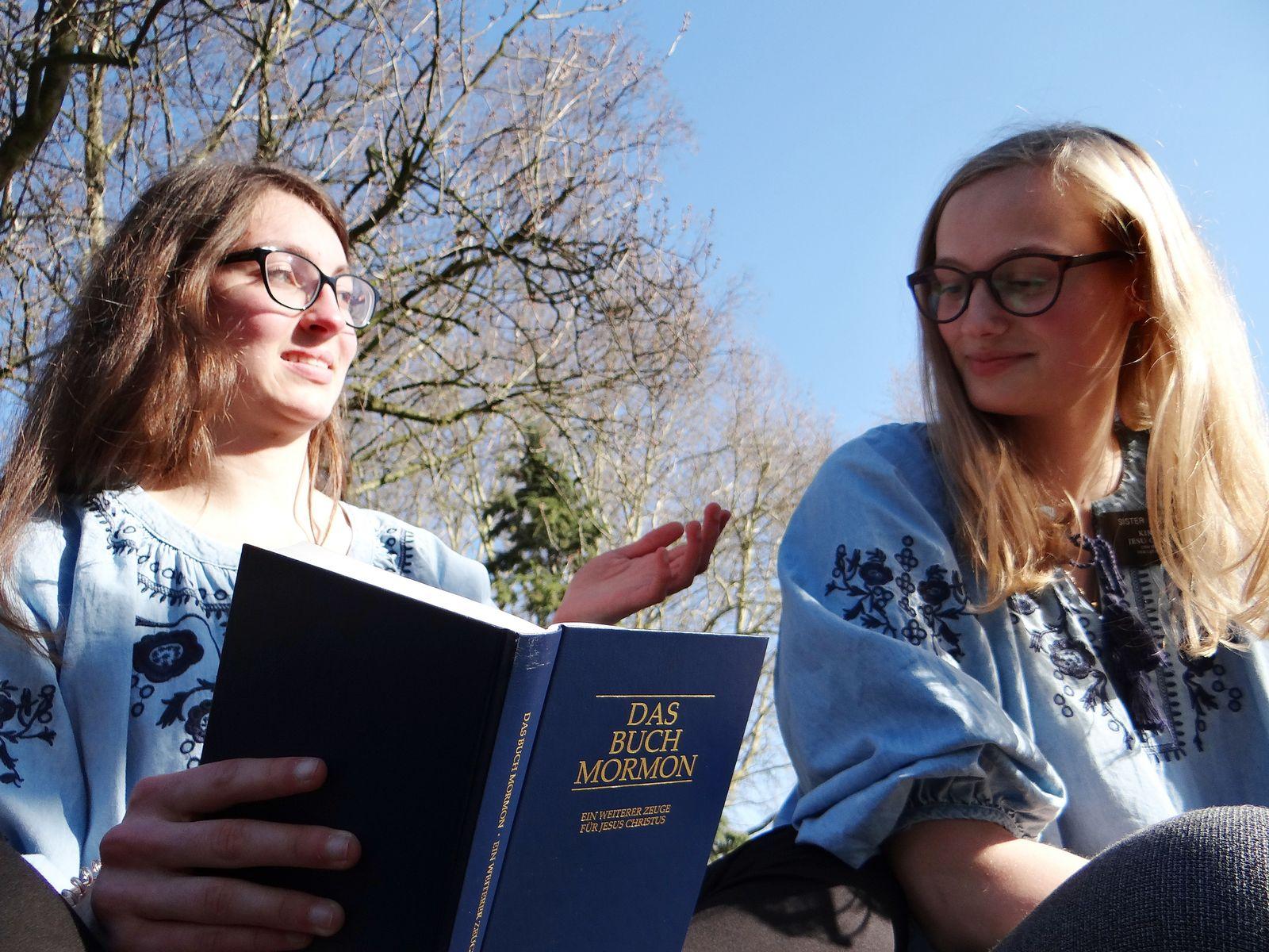 EINMALIGE VERWENDUNG Missionarinnen/ Mormonen