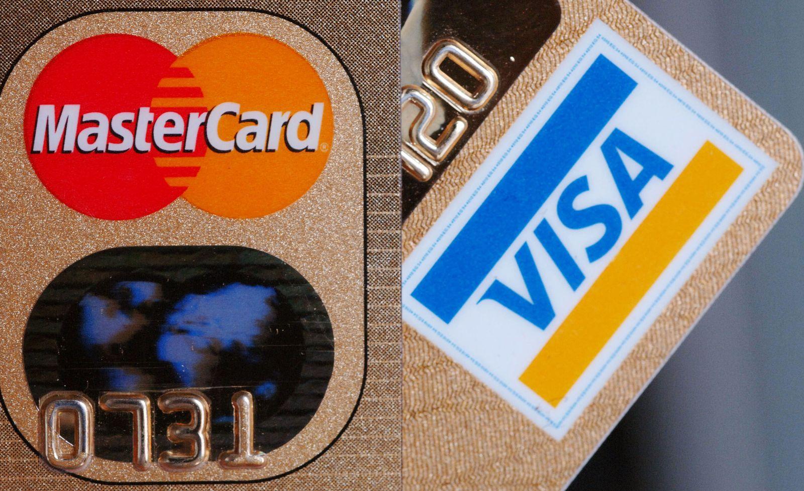 Kreditkarten / Visa / MasterCard