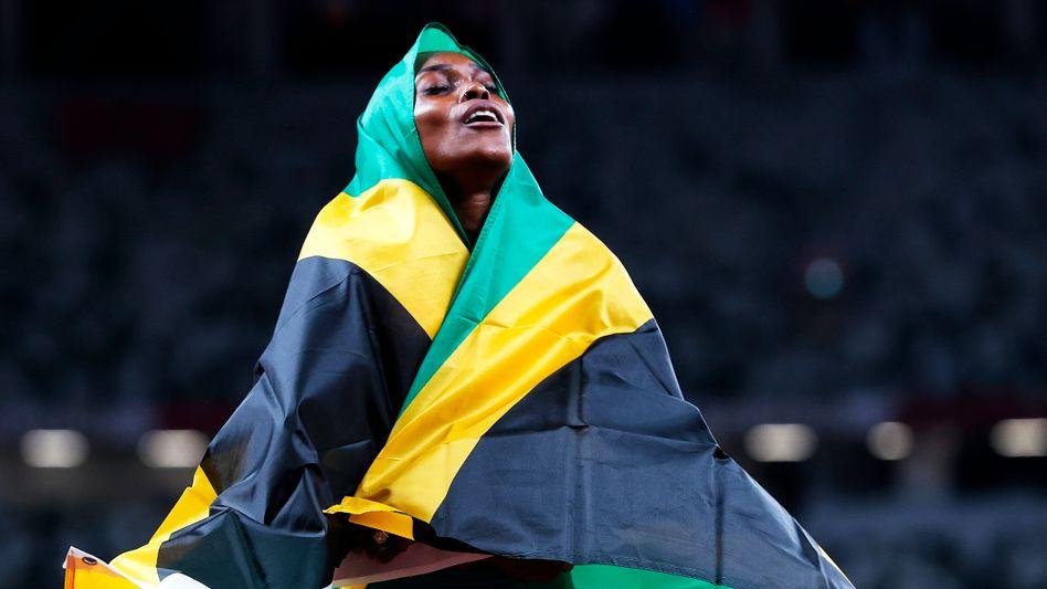 Jamaikas Topläuferin Elaine Thompson Herah
