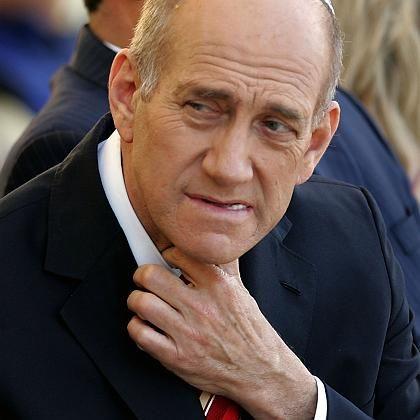 Israels Premier Olmert (am Wochenende): Schon wegen anderer Vorwürfe angeschlagen