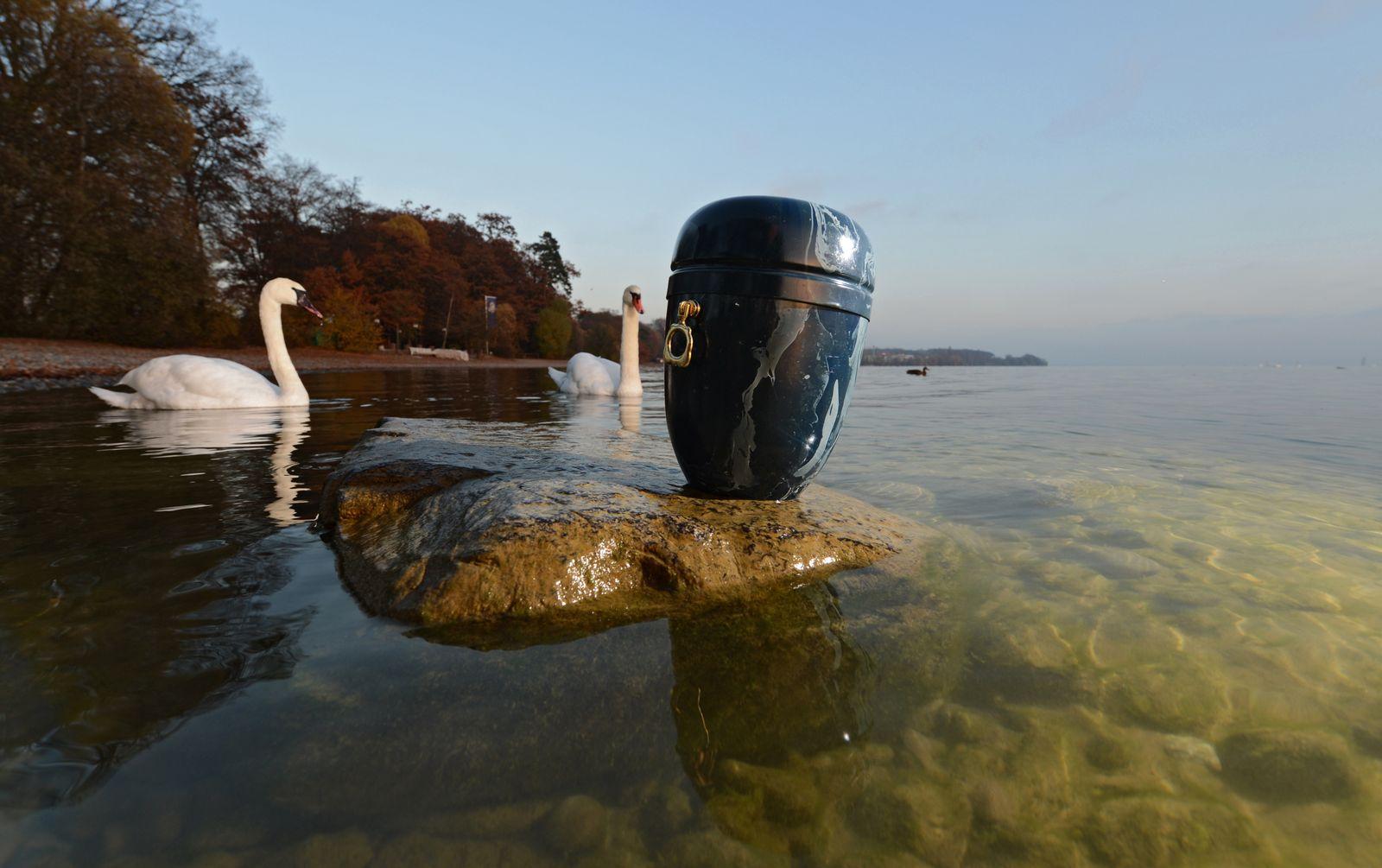 Seebestattung im Bodensee