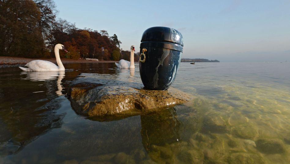 Seebestattung auf dem Bodensee
