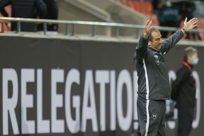 """Heidenheims Coach Frank Schmidt: """"Es darf jetzt nicht dazu führen, dass wir uns als Verlierer fühlen"""""""