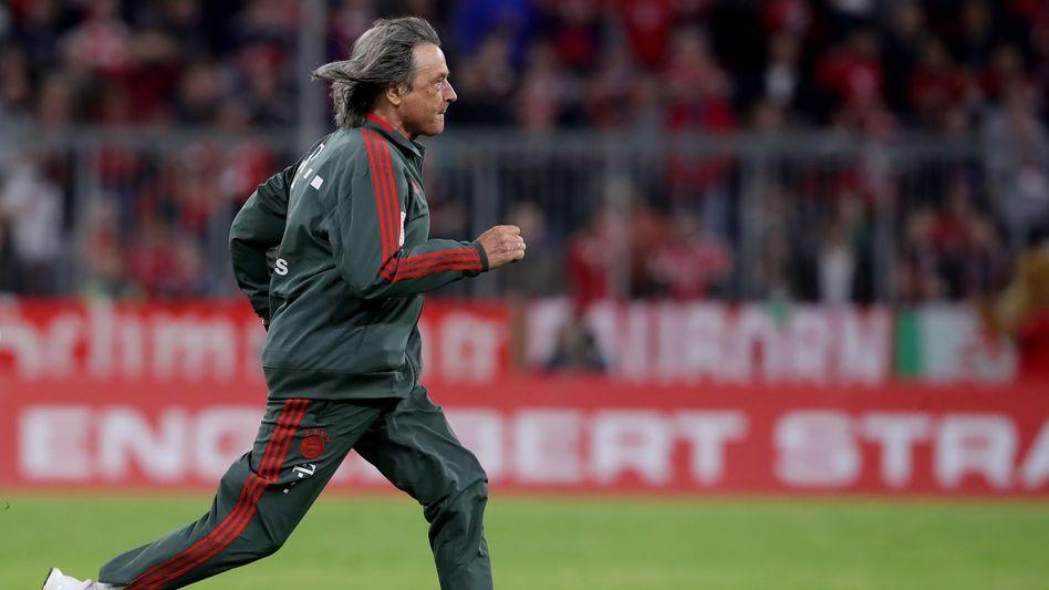 Ein ständiger Aktivposten beim FC Bayern: Dr. Müller-Wohlfahrt