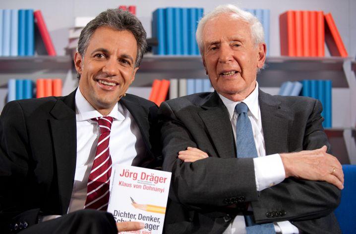 Jörg Dräger, Ex-Wissenschaftssenator Hamburg, Mitglied im Vorstand der Bertelsmann-Stiftung (links)