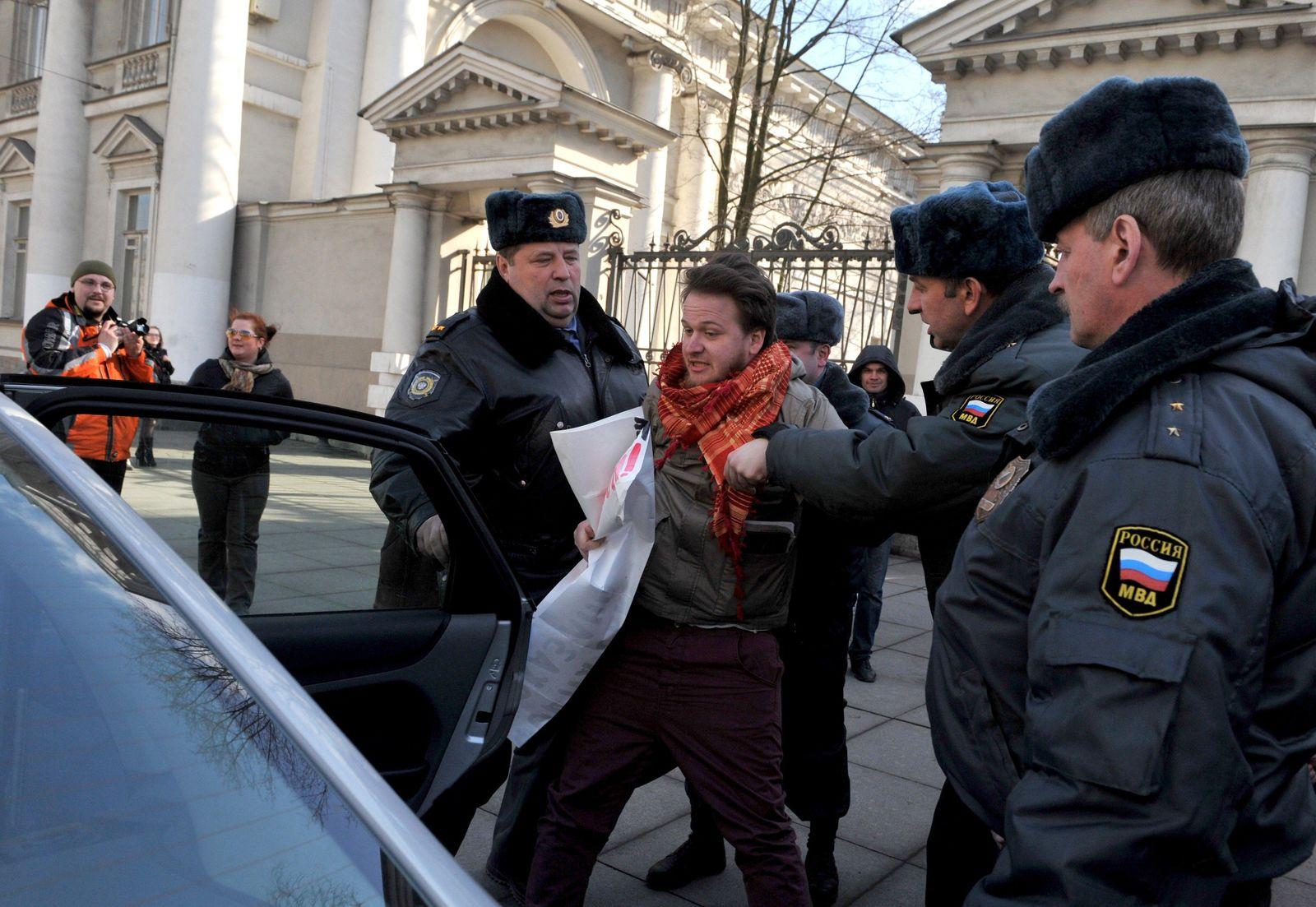 St. Petersburg / Schwule Proteste XXL