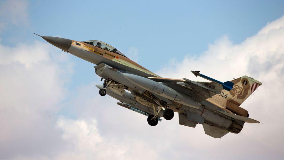 Israelischer F-16-Jet