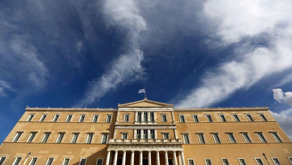 Griechisches Parlament in Athen: Nur vier Tage vernünftig verhandelt?