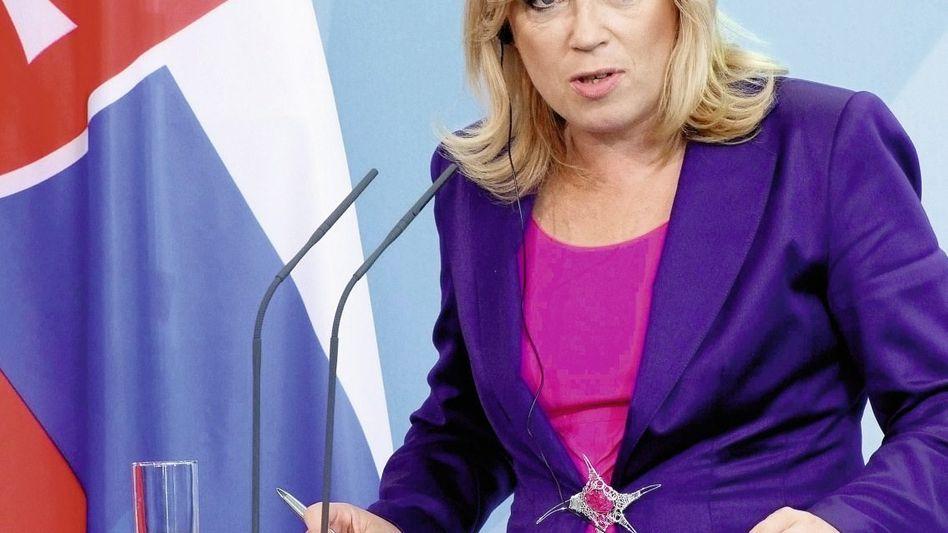 Premierministerin Radičová