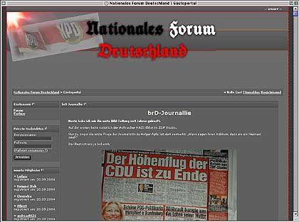 """""""Nationales Forum"""": Parteiübergreifende Diskussionsplattform für Insider (nur mit Anmeldung)"""