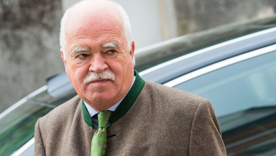 CSU-Politiker Peter Gauweiler: Bundestagsabgeordneter mit den höchsten Nebeneinkünften