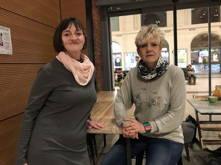 Steffi Brachtel (l.) und Ines Kummer