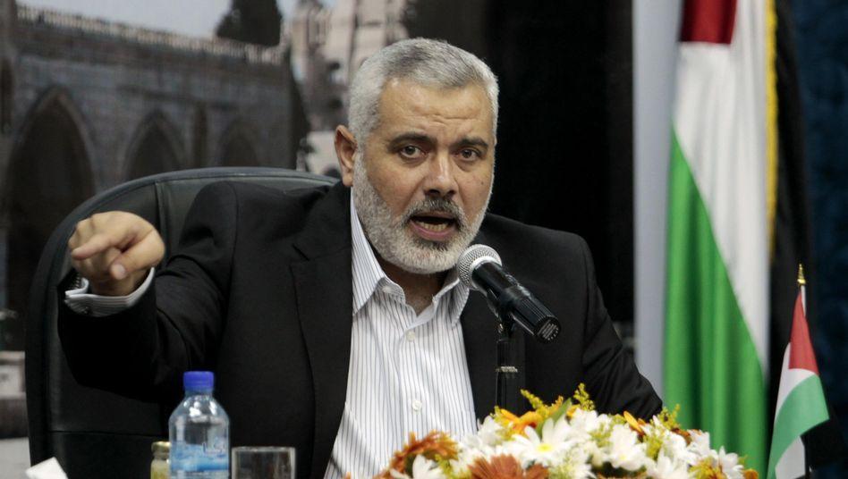 """Hamas-Führer Ismail Hanija: """"Frieden für Bin Ladens Seele"""""""