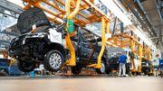 Industrieproduktion geht deutlich zurück