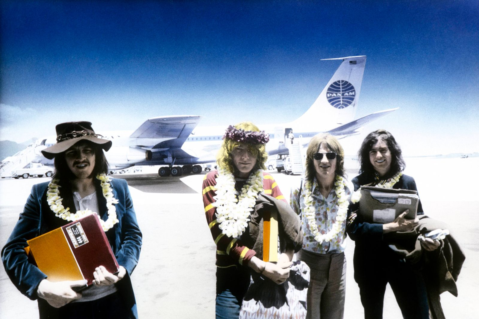 Led Zeppelin In Hawaii