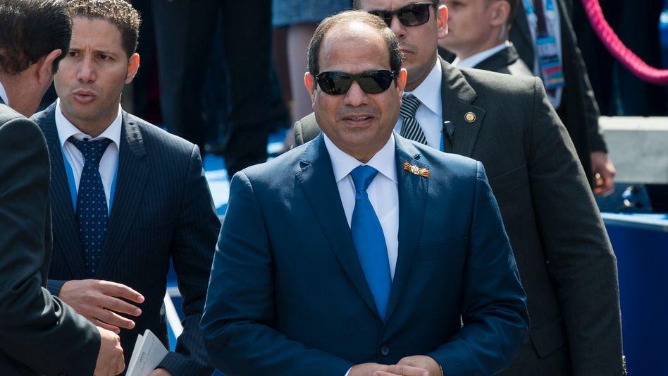 Abdel Fattah el-Sisi: Aufträge vom ägyptischen Gewaltherrscher