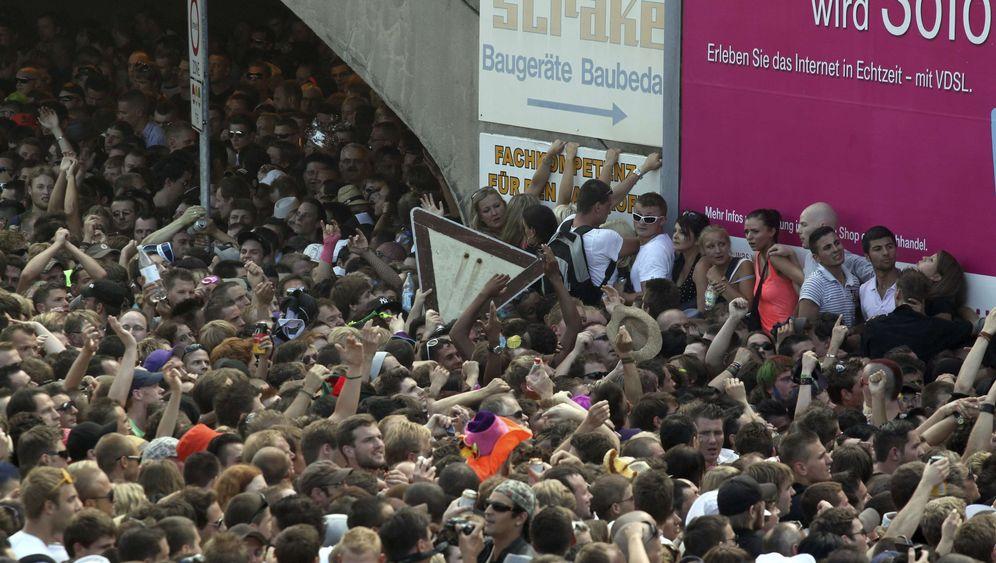 Katastrophe bei der Love Parade: Tod im Tunnel