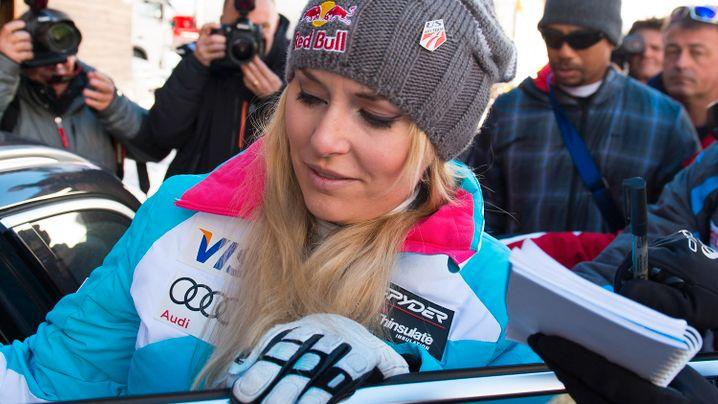 Lindsey Vonn: Das Aus der Olympiasiegerin