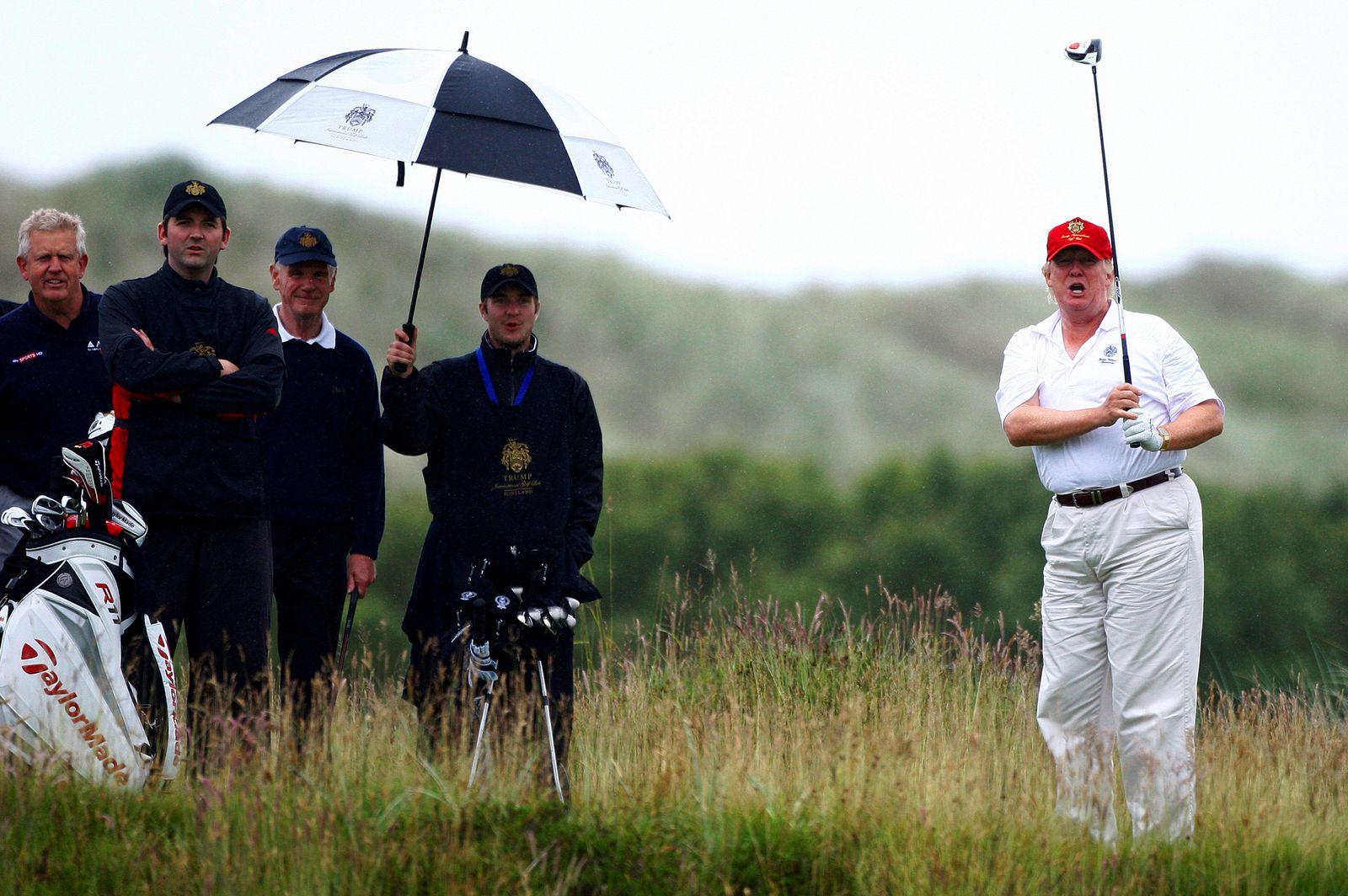 Donald Trump/ Leben
