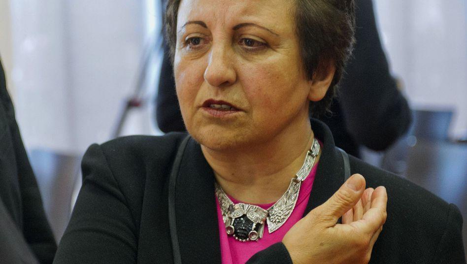 Friedensnobelpreisträgerin Schirin Ebadi: Nimmt nicht an Preisverleihung teil