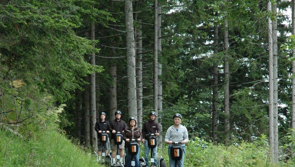 Segway-Tour: Hightech-Fahrt zur Almhütte