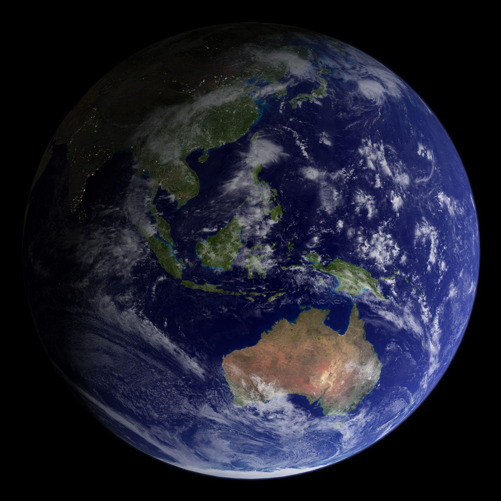 Klimaschutz Australien / Erdkugel / G20