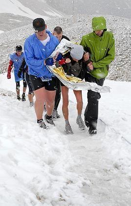"""Bergläufer auf der Zugspitze: """"Unmenschliche Bedingungen"""""""