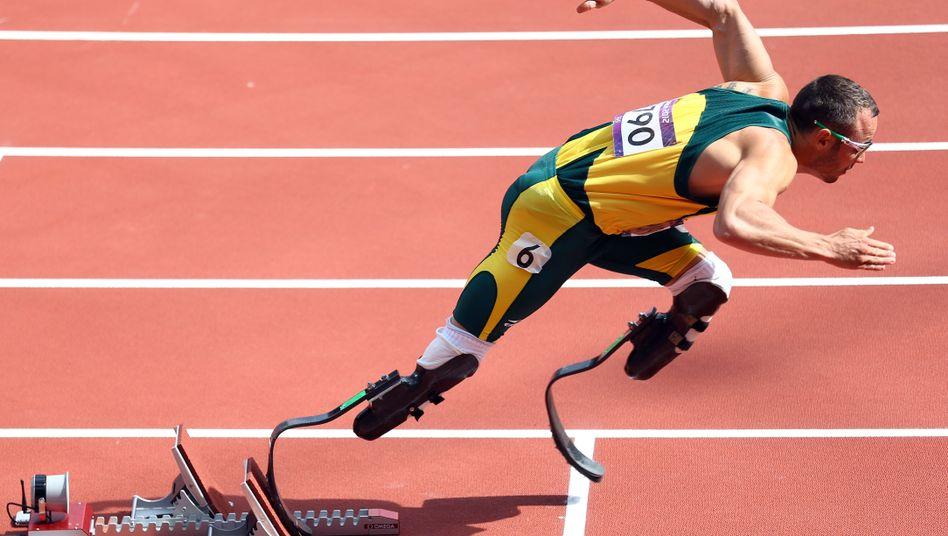 Leichtathlet Pistorius: Im zweiten Halbfinale Letzter