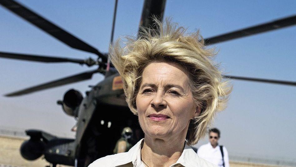 Verteidigungsministerin von der Leyen in Afghanistan