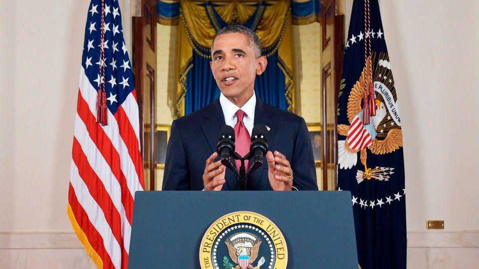 Anti-IS-Strategie: Obama kündigt Ausweitung der Luftangriffe auf Syrien an