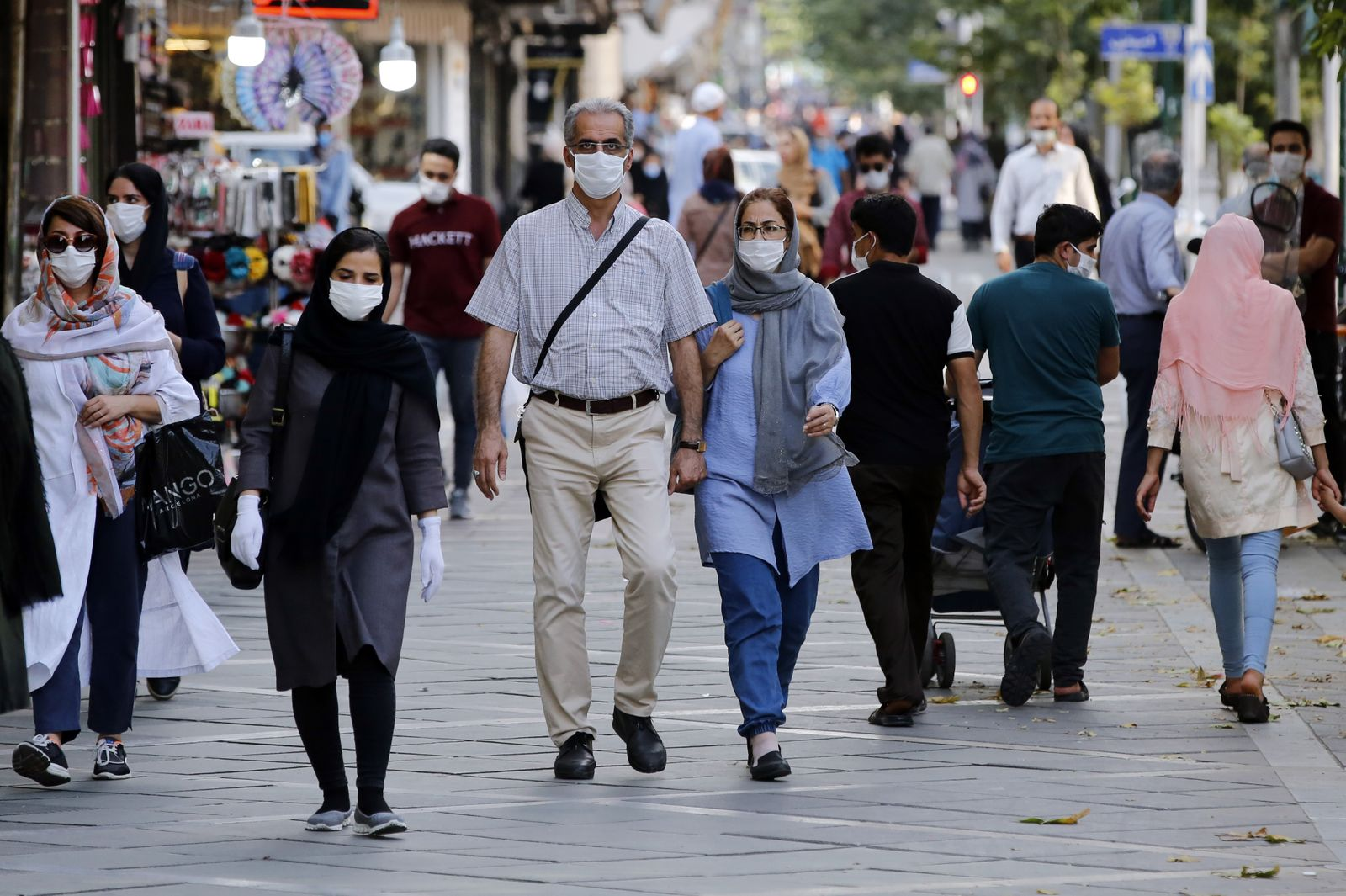 Coronavirus disease COVID-19 in Iran, Tehran, Iran Islamic Republic Of - 27 Jul 2020