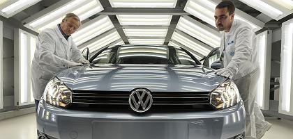 Produktion bei Volkswagen: Genauere Untersuchung der Kurssprünge