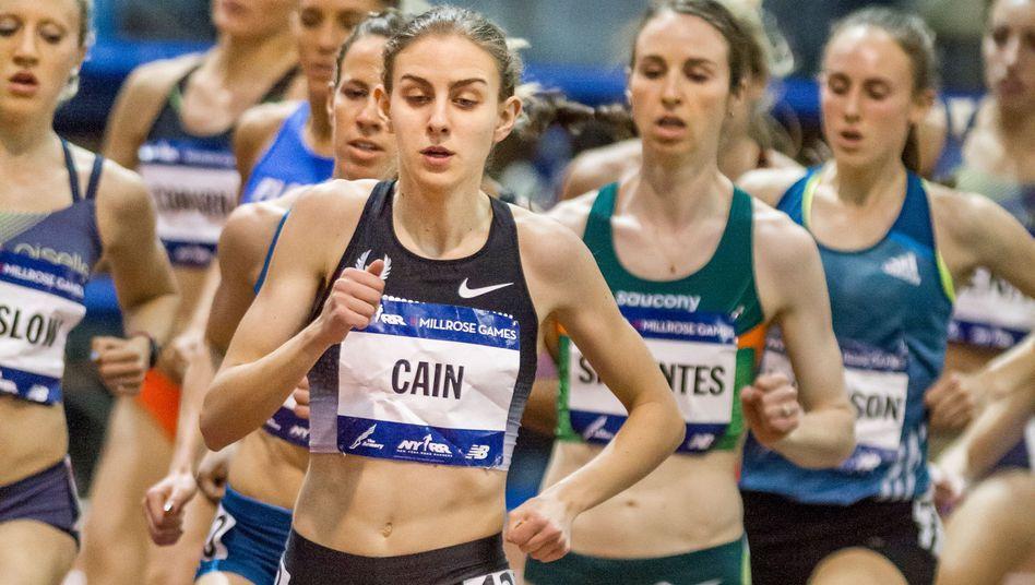 """Läuferin Cain im Februar 2014: """"Er forderte, dass ich immer dünner werde"""""""