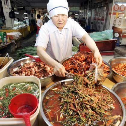 Nationalspeise Kimchi: Scharfe Speise als All-Snack