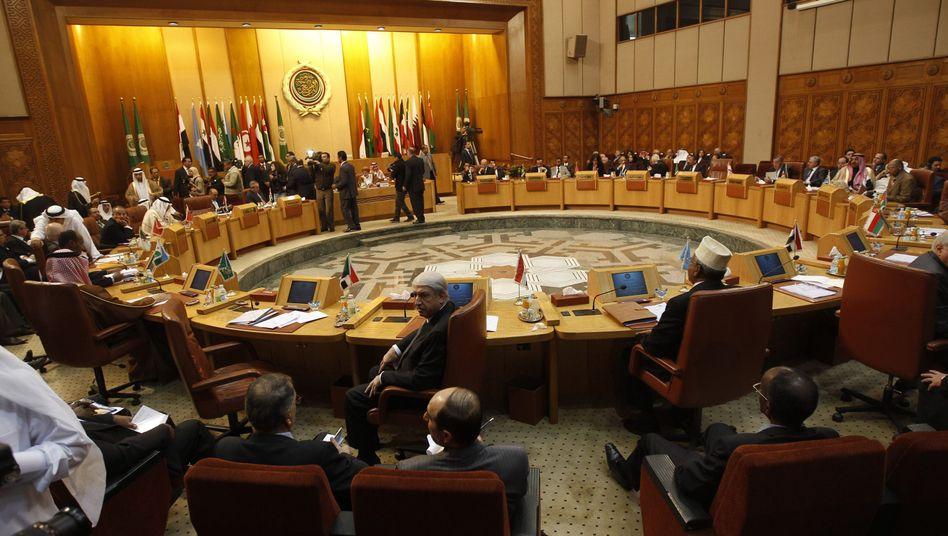 Treffen der Arabischen Liga: Die Herrscher wollen Gaddafi unter Druck setzen