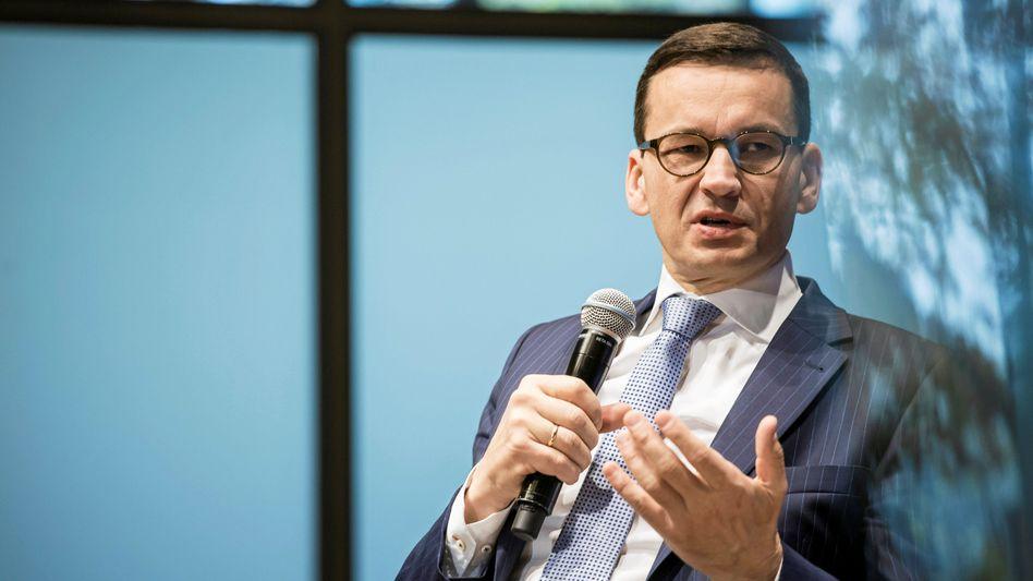 Polens künftiger Regierungschef Mateusz Morawiecki