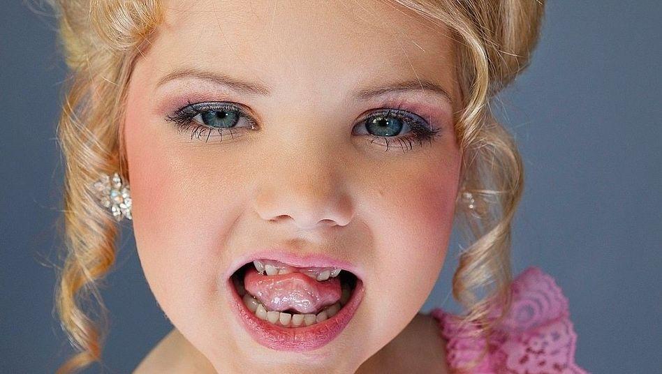 """Fernsehstar Eden Wood aus der US-Show """"Toddlers & Tiaras"""""""
