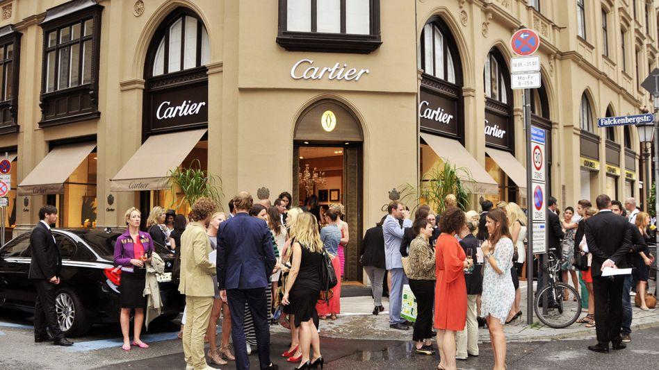 Fest bei Cartier in München (Archivbild)