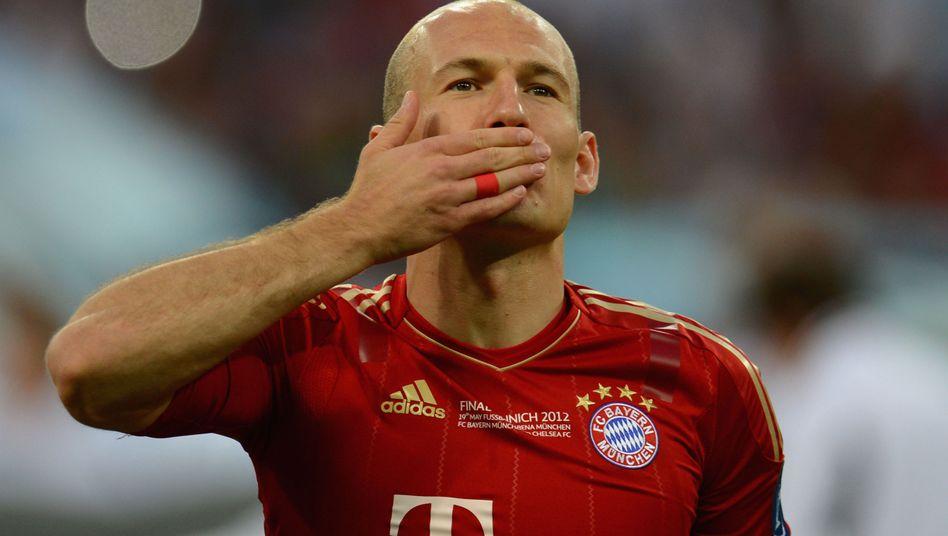 Bayern-Profi Robben: Verschossener Elfmeter im Champions-League-Finale