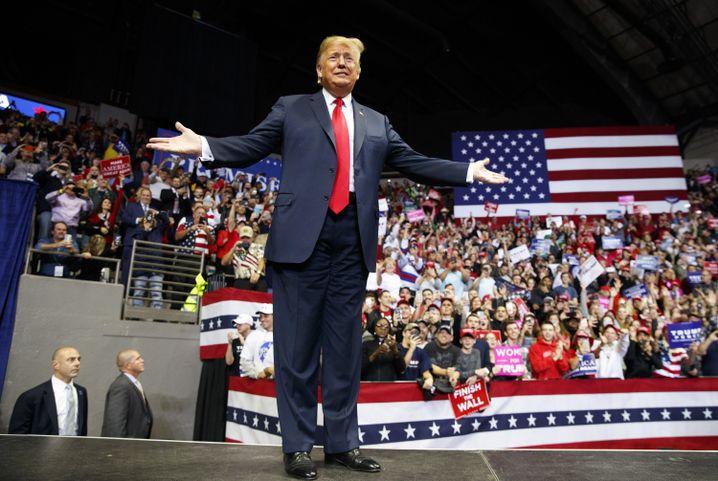 Donald Trump ist erfolgsverwöhnt: Kann er sich doch wieder aus der Krise retten?