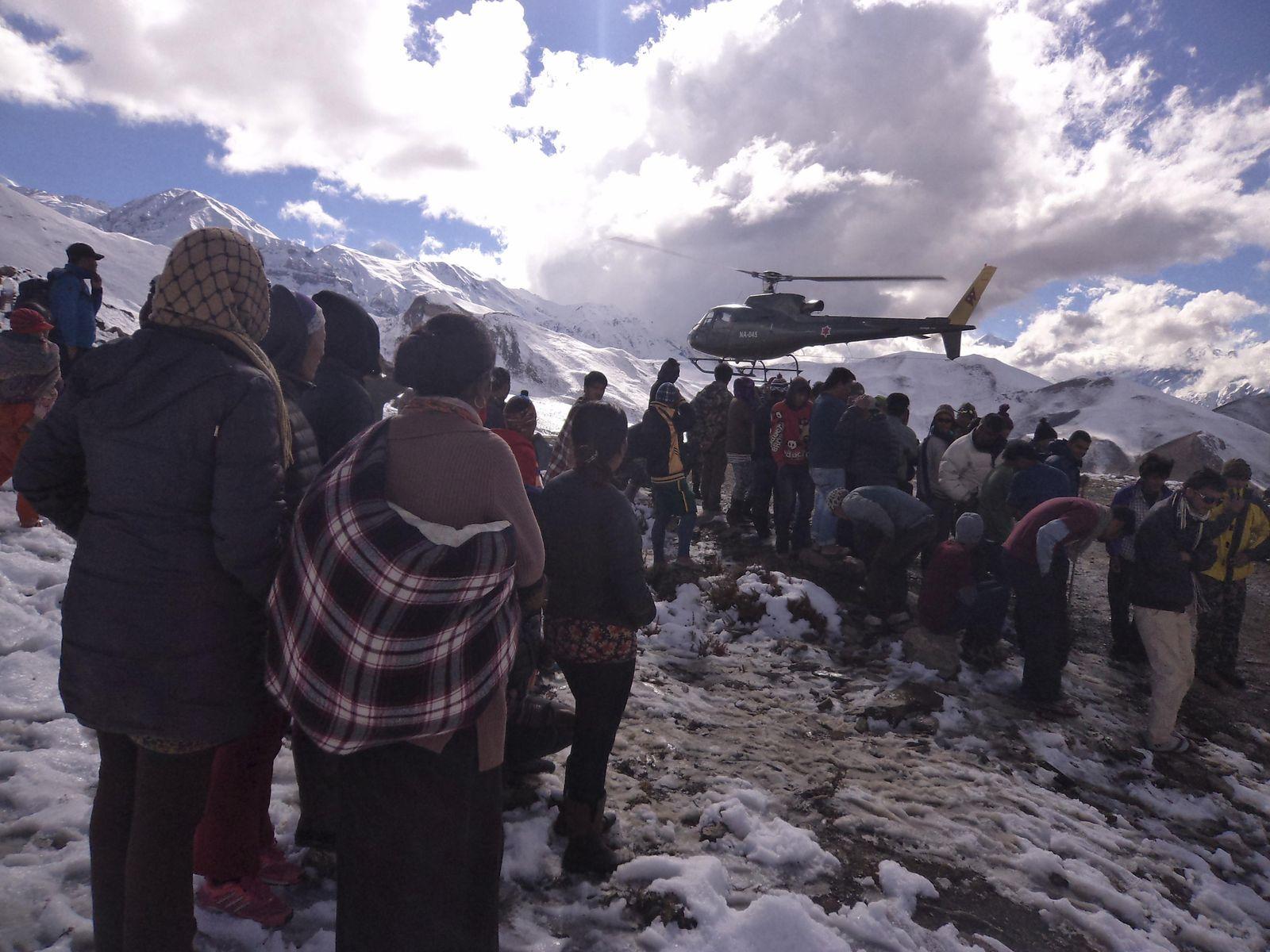 Himalaya/ Schneesturm
