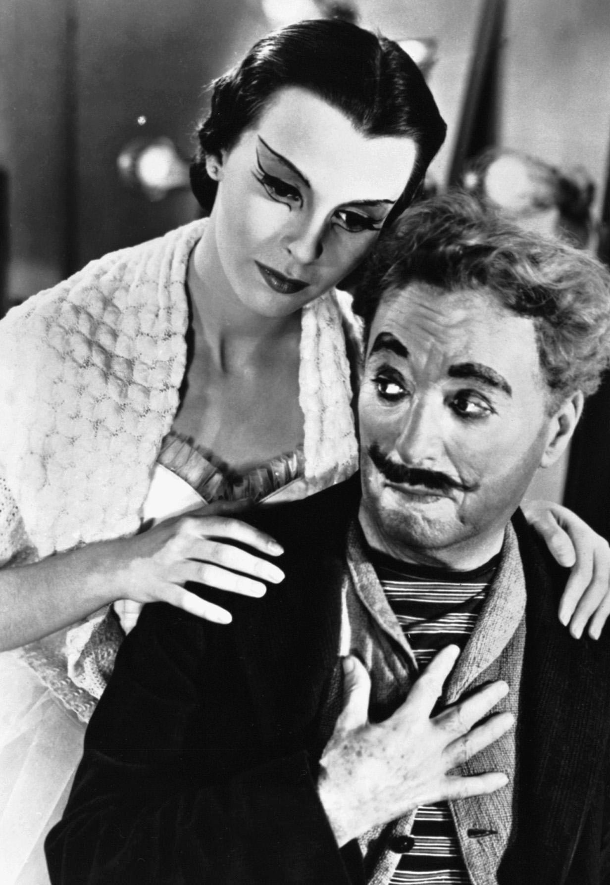 EINMALIGE VERWENDUNG Charlie Chaplin/ Limelight