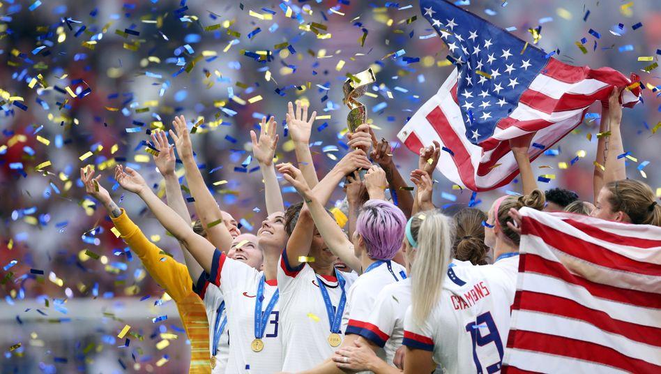 Die Weltmeisterinnen kommen aus den USA