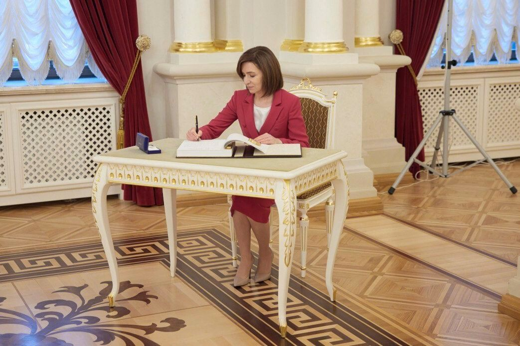 Ukrainian President Zelensky - Moldovan President Sandu meeting in Ukraine
