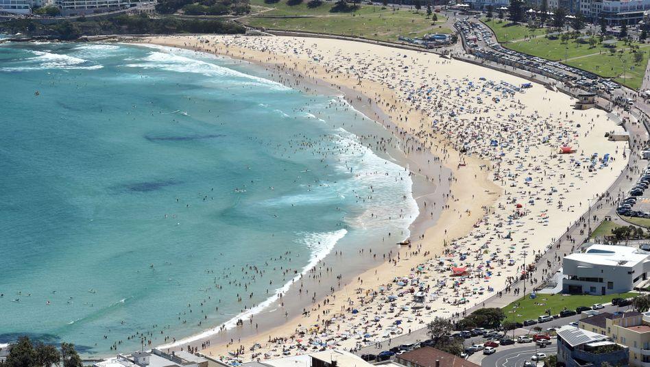 Surfparadies Bondi Beach in Sydney