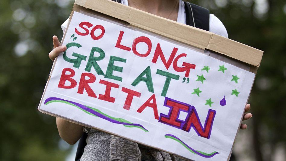 EU-Befürworter nach Brexit-Entscheid in London