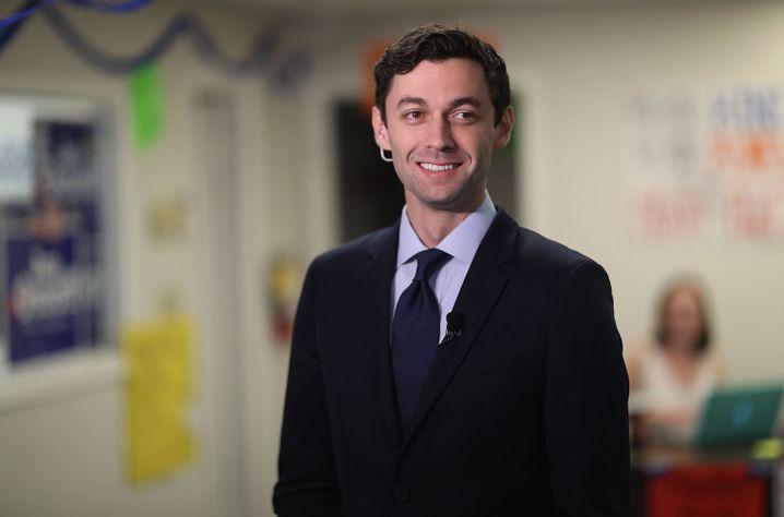 Jon Ossoff, Kandidat der Demokraten