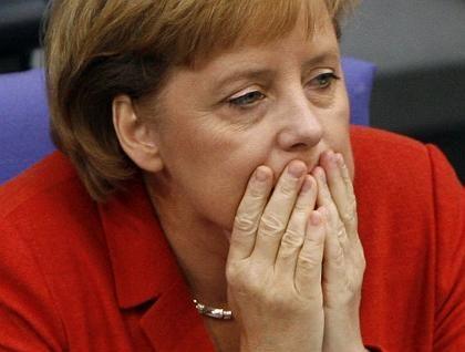 "Angela Merkel: ""Sparen tut weh"""
