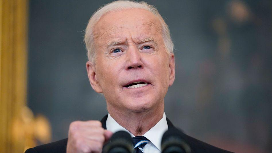 US-Präsident Joe Biden möchte mehr Amerikanerinnen und Amerikaner zur Impfung verpflichten